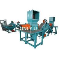 Buy cheap PE HDPE crushing washing recycling line from wholesalers