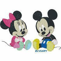 Buy cheap Design Categories BBMK4 Baby Mickey and Baby Minnie from wholesalers