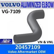 China NEW PARTS ADDED 20457109 Volvo Exhaust Double Bend Elbow VG-7109 wholesale