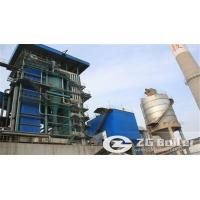 70 ton SZL coal fired traveling grate water tube boiler in India