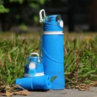 China Practical Business Gifts Sport Silicone Water Bottle wholesale