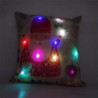 China Practical Business Gifts LED Christmas Lights Pillow Set wholesale