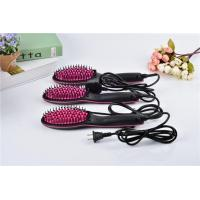 China Practical Business Gifts LCD Electric Straight Hair Brush wholesale