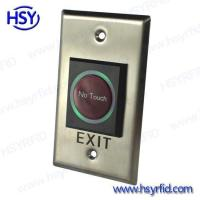 China Exit Button Access Control No Touch Exit Button wholesale