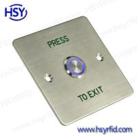 China Exit Button Push Door Exit Button Switch with LED wholesale