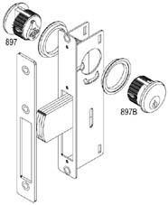 Quality NARROW STILE DEAD LATCHES (P0600-01) for sale