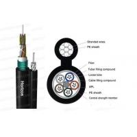 Buy cheap Fiber Optic Cable GYTC8S Fig.8 Self-support Loose Tube Single Jacket Single Armored Cable from wholesalers