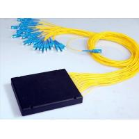 Buy cheap Passive Components Single Mode / Multimode Fiber Optic Splitter Low PDL For Signal Monitoring from wholesalers