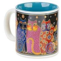Buy cheap Office-Travel Laurel Burch Artistic Mug Collection -Feline Family Portrait from wholesalers