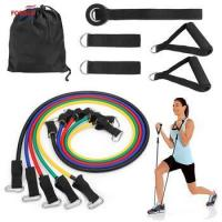 China High-density stretch power fitness loop resistance bands set wholesale