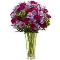 China Purple Peruvian Lily Bouquet wholesale