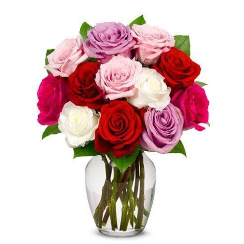Quality One Dozen Sweetheart Roses for sale