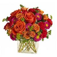 Buy cheap Modern Orange Roses Bouquet Modern Orange Roses Bouquet from wholesalers