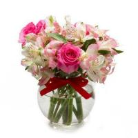 Buy cheap Small Bouquet of Pink Roses from wholesalers