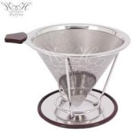 China Paperless Stainless Steel Coffee Filter Reusable on sale