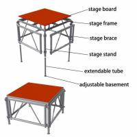 China Aluminum perfromance stage platform/ truss system wholesale