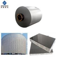 China 3xxx PVDF RAL5012 PPAL color coated aluminum curtain wall coil on sale