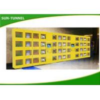 China Subway Iced Coffee Kiosk Fresh Food Vending Machine With Refrigerated System wholesale