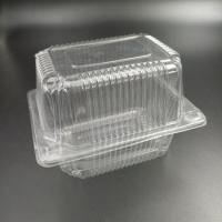 China Plastic packaging box container clamshell for cake on sale