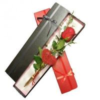 Custom Cheap Single Long Stem Flower Box for Gift