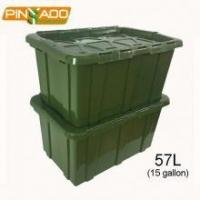 China New Design 150L Heavy Duty Moving Boxes Waterproof Storage Container wholesale