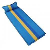 China Sleeping Pad Single Air Mattress with Connectable Button wholesale