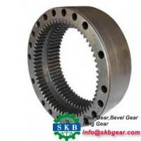 China Customized truck crown wheel and pinion gear bevel gear for toyota wholesale