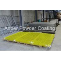 Buy cheap Russian 3*2.5m mesh fence PVC coating line -4 from wholesalers