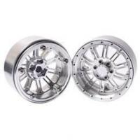 "Quality DJX 4PCS Metal Alloy 2.2"" Wheel Beadlock Rim for 1/10 RC Crawler Axial SCX10 RR10 for sale"