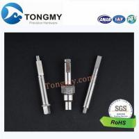 Buy cheap CNC maching carbon steel screw thread shaft from wholesalers