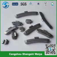 Buy cheap Zn clip on wheel weights from wholesalers