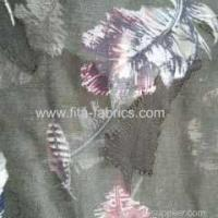 Buy cheap 100% polyester burnout chiffon printing fabric from wholesalers