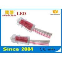 Buy cheap Advertising Signboard Led String Lights Waterproof 9mm Red Color from wholesalers