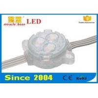 Buy cheap 12V 5050SMD Led Sign Module 30mm RGB Full Color Fire Protection from wholesalers