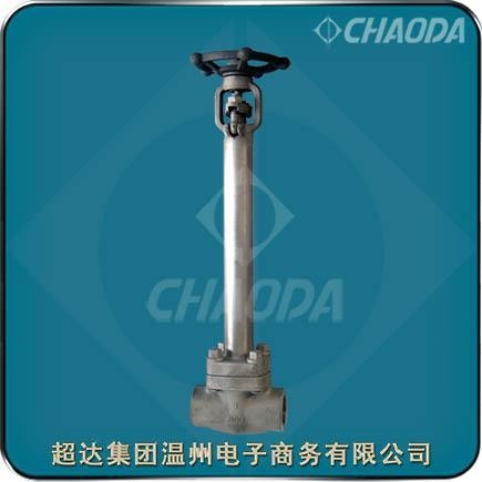 Quality Female Threaded Forged Cryogenic Gate Valve for sale