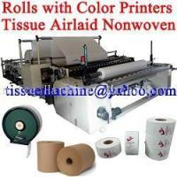 China High Speed Automatic Embossing Color Printing Jumbo Roll Tissue Slitting Rewinding Machine wholesale