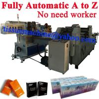 China No Need Worker A to Z Pocket Tissue Fully Automatic Handkerchief Machine Production Line wholesale