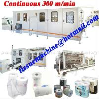 China Lamination High Speed Automatic Continuous Kitchen Towel Making Machine wholesale