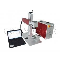 Quality Portable fiber marking machine for steel name plates and tag, plates for sale